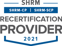 SHRM Recertification Provider CP-SCP Seal